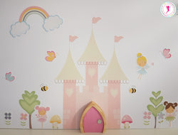 Fairy Princess Wall Stickers and Fairy Door