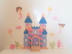 Mermaid Wall Stickers and Fairy Door