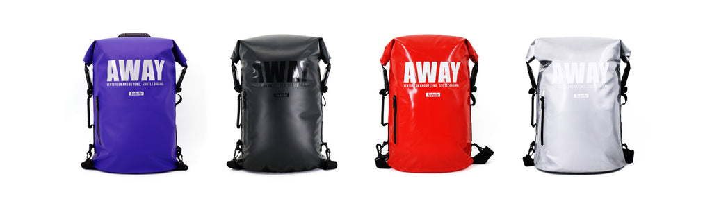Subtle Mr.Rain AWAY Backpack. Urban rain wear, rain gear, streetwear, waterproof, weatherproof, travel gear, outdoor.