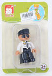 LITTLE COMPATIBLE BLOCK POLICE MAN