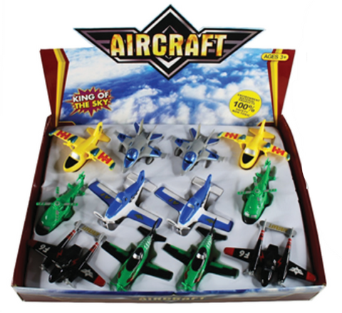 FIGHTER PLANE 12PC (OUT OF STOCK)