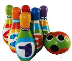 NUMBER BOWLING SET-FOAM