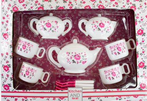 FLOWER TEA SET