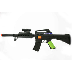 FLINT GUN WITH FLASHLIGHT (out of stock)