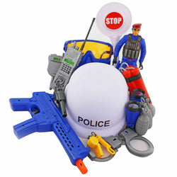 POLICE BACKPACK -(out of stock)