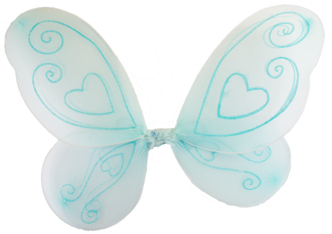 BLUE FAIRY WINGS