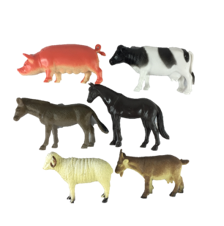 FARM ANIMALS 6PC