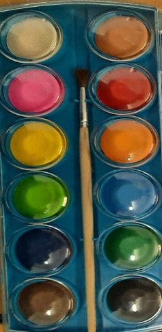 12PC PAINT AND BRUSH (OUT OF STOCK)