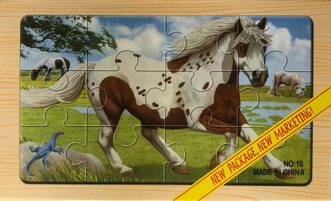 12PC PUZZLE CASE-FARM