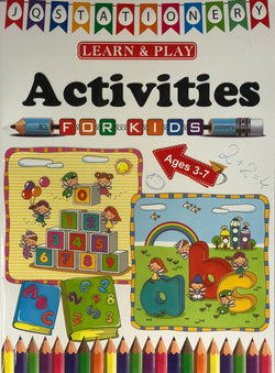 ACTIVITIES BOOK (out of stock)