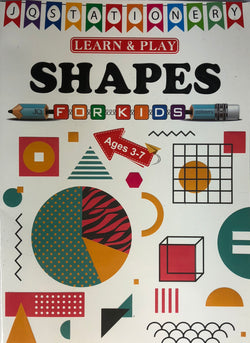 SHAPES BOOK (out of stock)