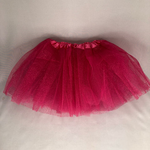 CERISE GLITTER SKIRT   (out of stock)