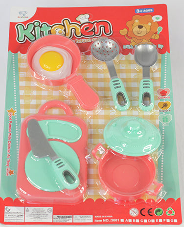 COOKING SET ON A CARD