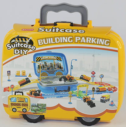 CONSTRUCTION PARKING LOT PLAYSET (out of stock)