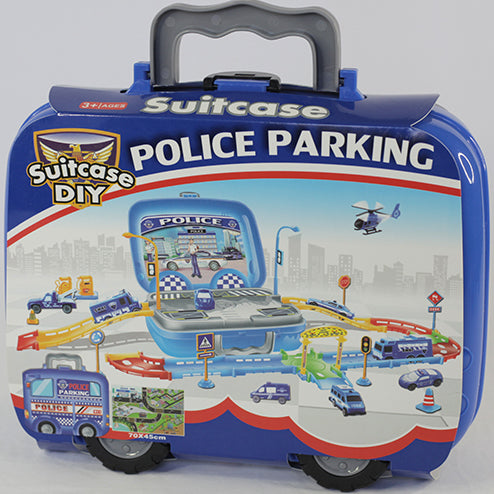 POLICE PARKING LOT
