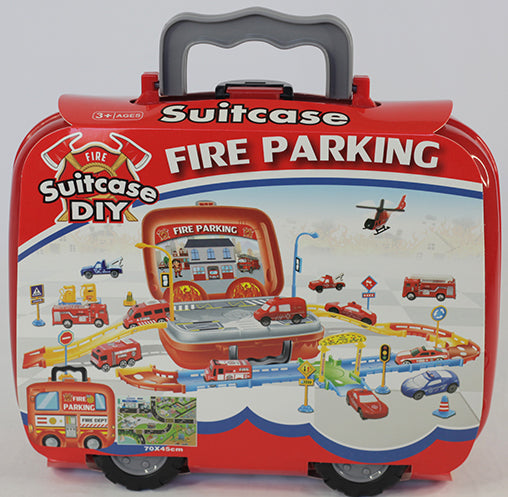 FIRE STATION PARKING PLAYSET (out of stock)