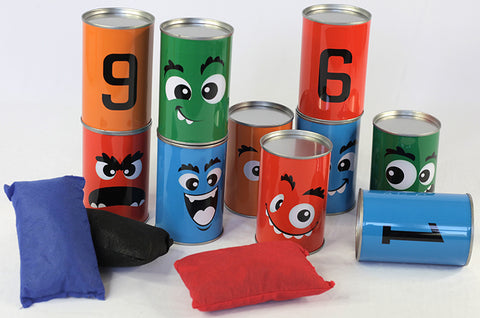 TIN CAN TARGET GAME