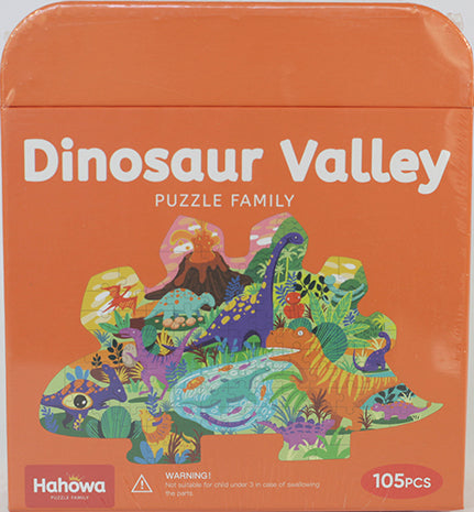 105PC DINOSAUR FLOOR PUZZLE