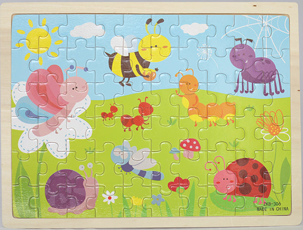 60pc INSECT JIGSAW PUZZLE