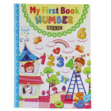 NUMBER/TIME STICKER BOOKS