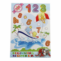 123/ABC STICKER BOOKS