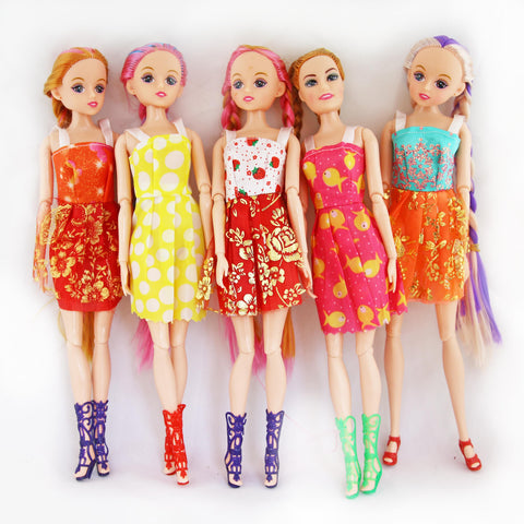 JOINTED FASHION DOLLS (SOLID)