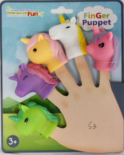 UNICORN FINGER PUPPETS (out of stock)