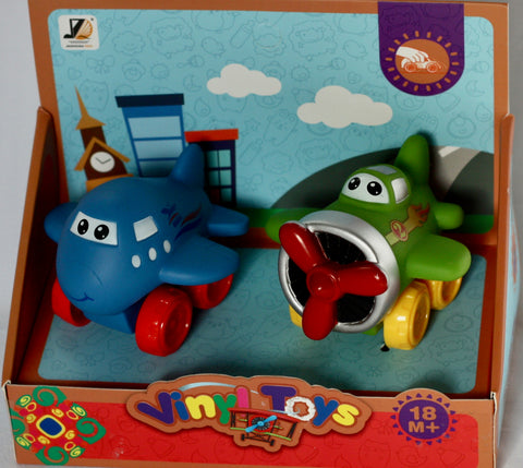 2pc CARTOON AEROPLANE SET