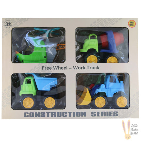 CONSTRUCTION GIFT SET 4PC