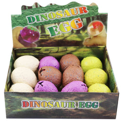 SQUISH DINO EGGS 12PC