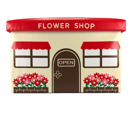 TOY BOX/OTTOMAN-FLOWER SHOP