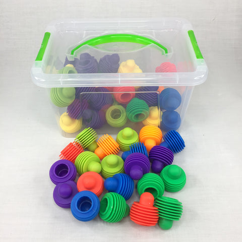 ROUND CONNECTORS-BOX