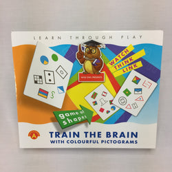 TRAIN THE BRAIN WITH COLOURFUL PICTOGRAMS