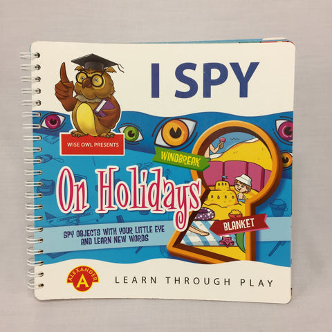 I SPY - ON HOLIDAYS