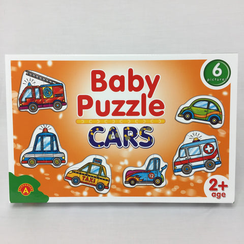 BABY PUZZLE - CARS