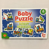 BABY PUZZLE - HEAVY VEHICLES