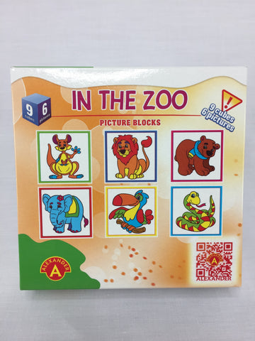 PICTURE BLOCKS - IN THE ZOO