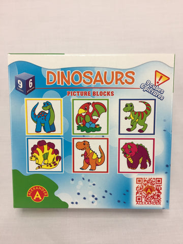 PUZZLE BLOCKS - DINOSAURS