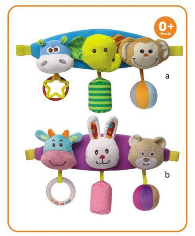 STRAP SOFT ANIMAL MOBILE