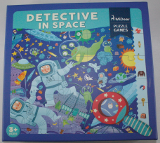 42PC DETECTIVE IN SPACE + 3D MAG. GLASS