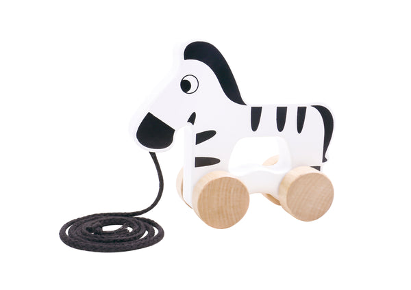 PULL ALONG ZEBRA-TOOKY TOY