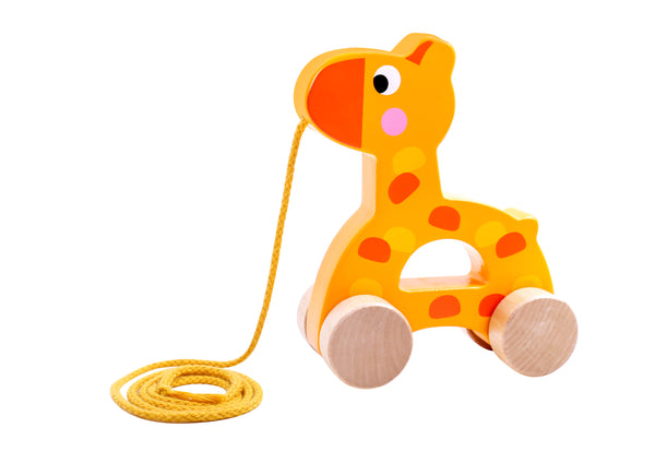 PULL ALONG GIRAFFE-TOOKY TOY (out of stock)