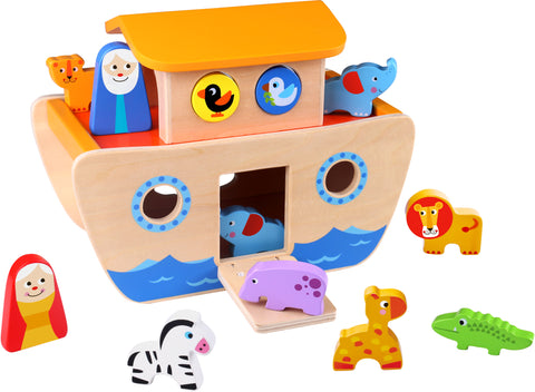 WOODEN NOAHS ARK-TOOKY (out of stock)