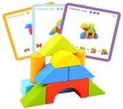 TOOKY BLOCKS WITH PATTERN  CARDS
