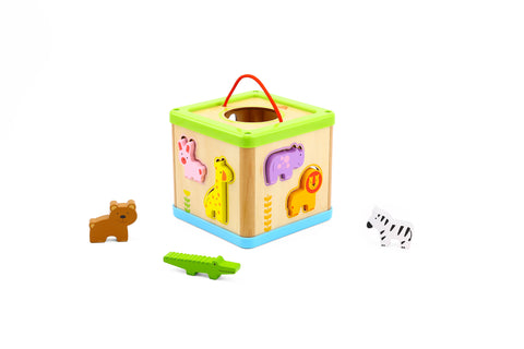 ANIMAL SHAPES SORTER-TOOKY