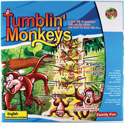 TUMBLIN MONKEYS (out of stock)