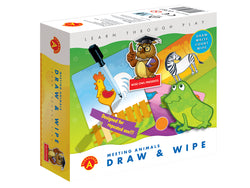 DRAW AND WIPE-MEETING ANIMALS