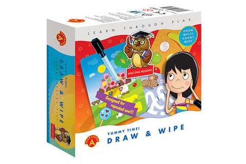 DRAW AND WIPE-YUMMY TIME