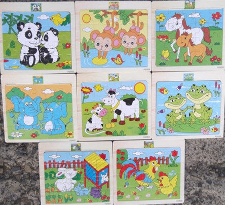 20PC PUZZLES ASSORTED (out of stock)