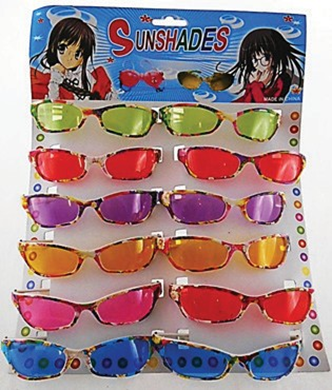 SUNGLASSES 12PC